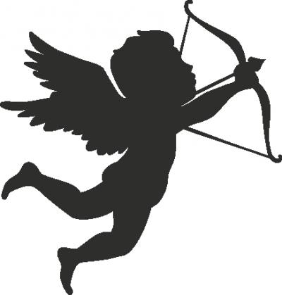 Wandsticker Cupido 4 -