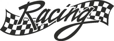 Muursticker racing -