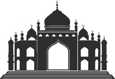 Muursticker Moskee 1 -