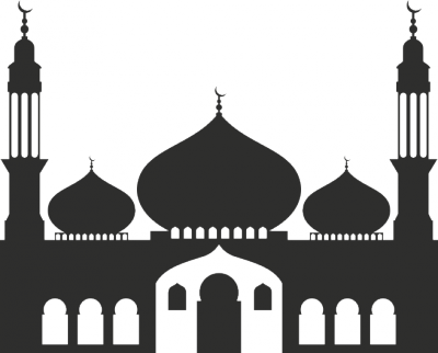 Interieursticker Moskee 2 -