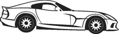 Decosticker Auto 3 -