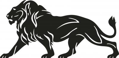 Muursticker leeuw 1 -