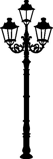 Muursticker lantaarn -