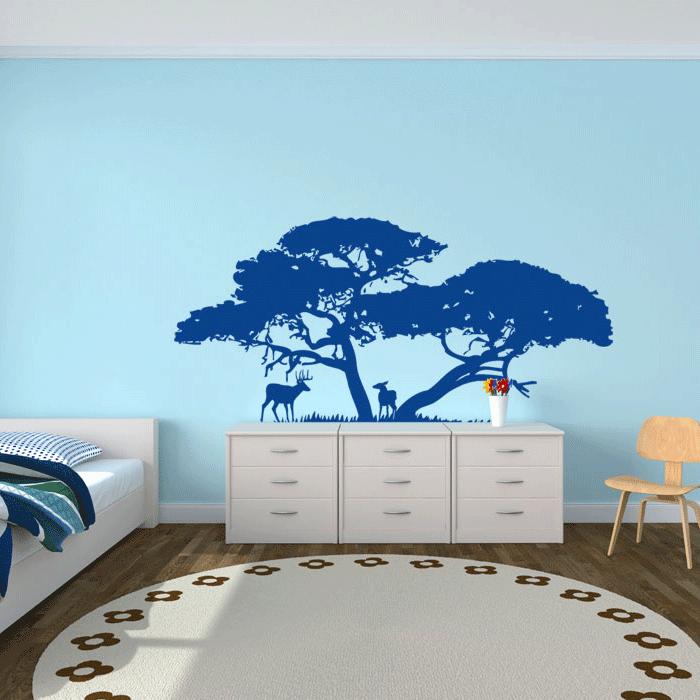 foto muursticker bomen