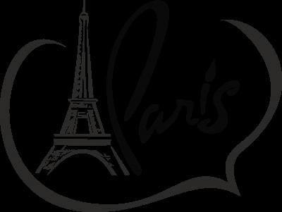 Woonkamer - Love Paris -