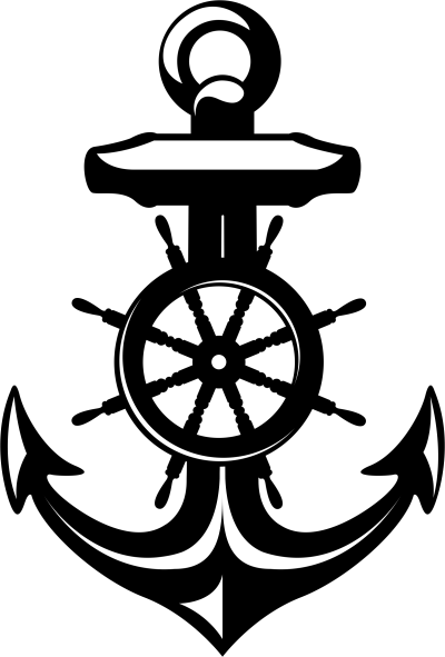 Kinderkamer - Anker met wiel -
