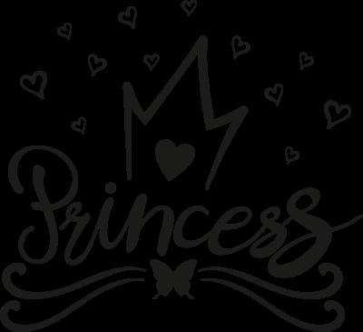 Kinderkamer - princesse hartjes -