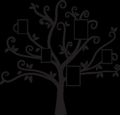 Woonkamer - Familieboom -