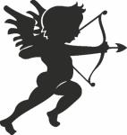 Muursticker Cupido 1 - Muurstickers