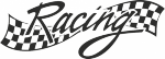 Muursticker racing - Muurstickers