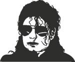 Muursticker Michael Jackson - Muurstickers