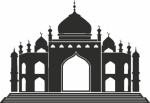 Muursticker Moskee 1 - Muurstickers
