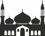 Interieursticker Moskee 2 - Muurstickers