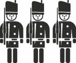 Muursticker lijfwachten - Muurstickers