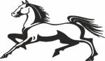 Interieursticker Paard 2 - Muurstickers