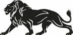 Muursticker leeuw 1 - Muurstickers