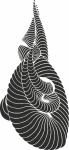 Decoratiesticker abstract 4 - Muurstickers