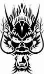 Muursticker duivel - Muurstickers