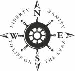 Muursticker kompas - Muurstickers