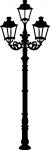 Muursticker lantaarn - Muurstickers