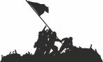 Muursticker slagveld - Muurstickers