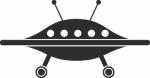 Muursticker UFO - Muurstickers