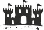 Muursticker kasteel A - Muurstickers