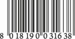 Muursticker barcode - Muurstickers