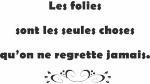 Tekststicker Folies - Tekst stickers