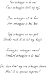 Tekststicker Honderd schaapjes - Tekst stickers