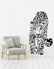 Woonkamer - luipaard - Muurstickers
