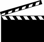 Filmklapper -  Naamstickers