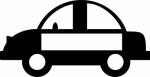 Auto -  Naamstickers