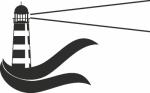 vuurtoren -  Naamstickers