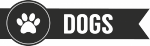 dogs -  Naamstickers