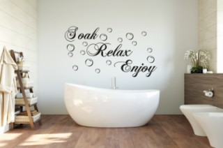 Badkamer-Soak-Relax_new - Tekst stickers