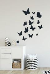 Kinderkamer - vlindertjes - Muurstickers
