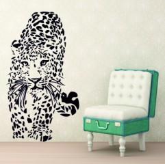 Muursticker luipaard - Muurstickers