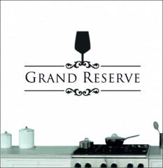 Muursticker grand reserve - Muurstickers
