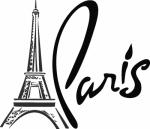 Muursticker Parijs - Muurstickers
