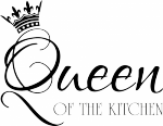 Muursticker queen of the kitchen - Muurstickers