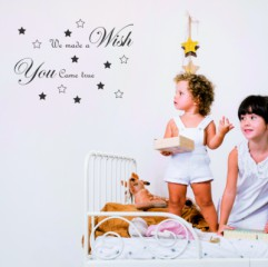Tekststicker A wish - Tekst stickers