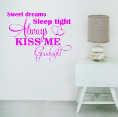 v023 sweet dreams muurstickers